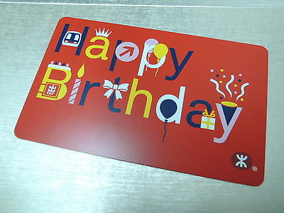 Free Shipping - Hong Kong MTR Happy Birthday Ticket