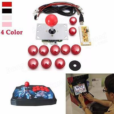 Game DIY Arcade Set Kits Replacement Parts USB Encoder to PC Joystick and Button