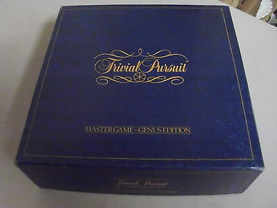Trivial Pursuit Genus Edition  Board Game Replacement Pieces Only
