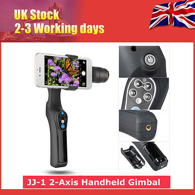 JJ-1 2-Axis Handheld Gimbal Smartphone Stabilizer for iPhone 6 Andriod Sumsung