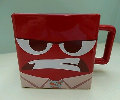 New Disney Store Exclusive Pixar Inside Out Anger Mug Pixar Ceramic Cup