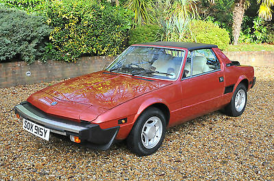 Time Warp Showroom Condition 1983 Bertone Fiat X19 - 2,457 Miles Only!