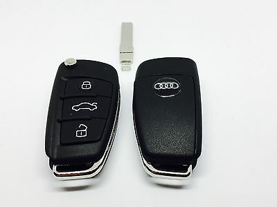 New 3 Button Remote Key For Audi A3 S3 Tt With Id48 Can Chip 8P0837220D