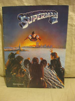 1981 SUPERMAN II SOUVENIR PROGRAM Movie Special Christopher Reeve Superman 2