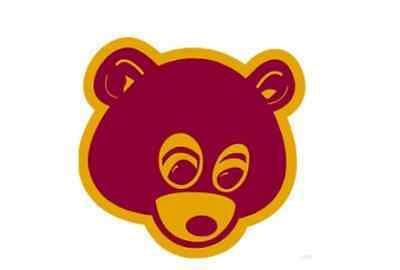 Kanye West College Dropout Bear Laptop Phone Sticker High Quality Decal