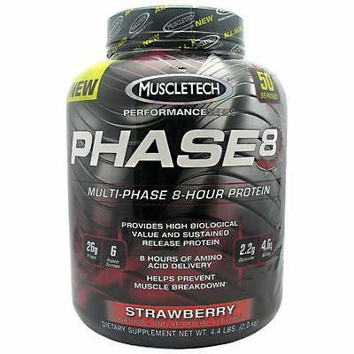 MuscleTech Phase8 Multi-Phase Strawberry 50 Servings