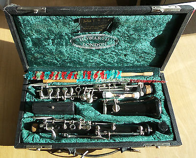 BOOSEY AND HAWKES REGENT OBOE Howarth London In Case with Reeds & Cleaning Brush