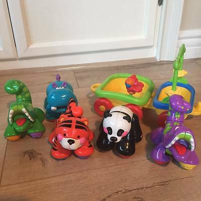 Fisher Price Amazing Animals - Train and tons of additional add on animals