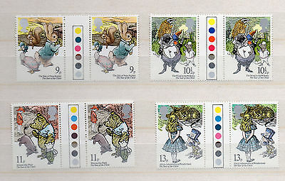 GREAT BRITAIN 1979 SET GUTTERPAIRS with TRAFFIC LIGHTS INT. YEAR of CHILD
