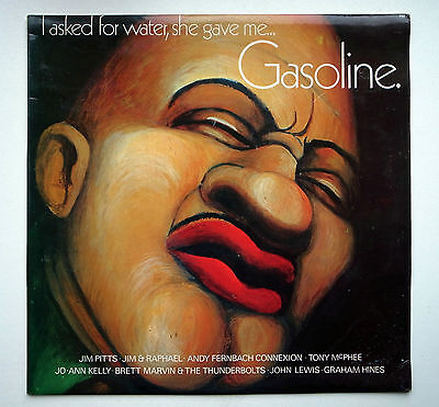 GASOLINE - I ASKED FOR WATER 1969 1st PRESS UK LIBERTY PSYCH LP MINT-