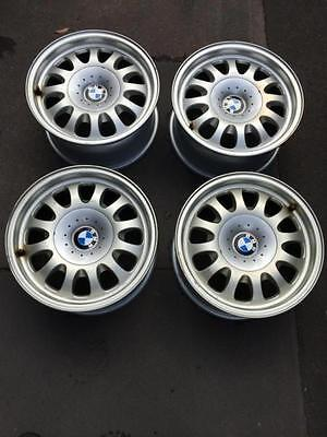 Bmw Genuine E39 15 Inch Rims / Wheels In Excellent Condition
