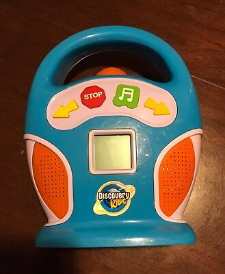 Discovery Kids MP3 Digital Portable Boom box SD Card Slot Model 1636110