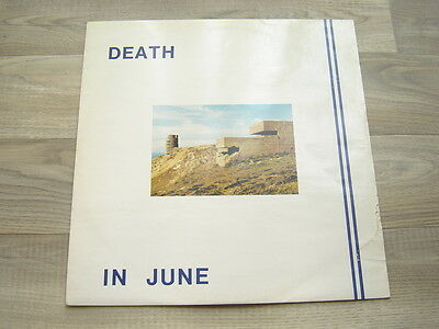 DEATH IN JUNE *EX+*industrial12 neofolk post punk newwave lp HEAVEN STREET avant