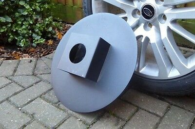 Land Rover Discovery 3/4 spare wheel security cover