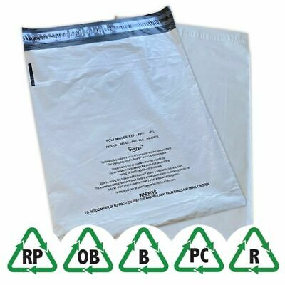 """Grey Eco Child Safety 17 x 24"""" 425 x 600mm Mailing Bags Choose Qty"""