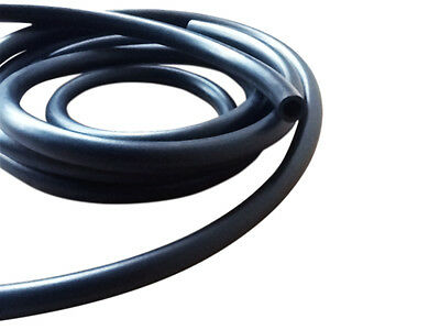 "2 METRES 5MM 3/16"" ID 8MM 5/16"" OD Rubber nitrile fuel hose pipe line UNIVERSAL"