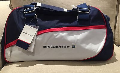 Genuine Brand New Bmw Sauber F1 Team Sports Bag Rare