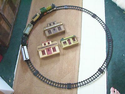 Vintage Plastic Train Set- Goldlok- Battery Operated-Continental Star Express