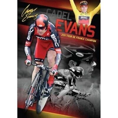 Cadel Evans Signed 2011 Tour De France Champion Limited Edition Cycling Print
