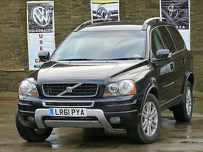 2011 Volvo Xc90 Se Awd D5 2.4 Diesel Auto Black 7 Seater Damaged Repaired