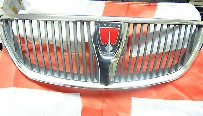 Genuine Rover 75 Front Grill Chrome facelft model 2003-06 DHB000390, Inc badge