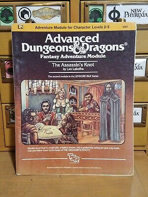 Advance Dungeons & Dragons The Assassin's Knot 9057 w/Map