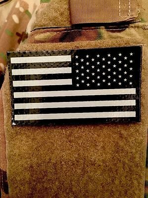 American Flag Infrared IR Subdued Military Issued Right Shoulder Morale Patch