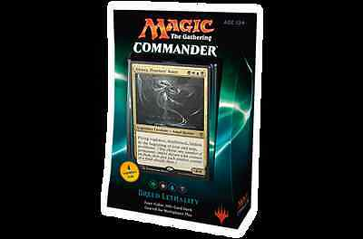 MTG Commander 2016 Decks Breed Lethality Uprising Superiority Unity ++ FREE DICE