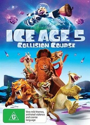 Ice Age 5 Collision Course Dvd FREE FAST POSTAGE-BRAND NEW AND SEALED :)