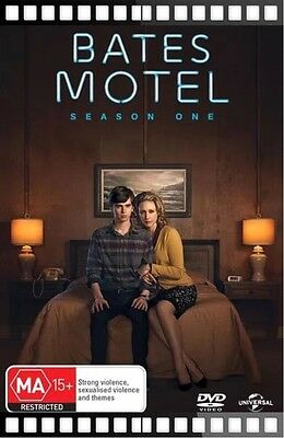 Bates Motel Season 1 Dvd FREE FAST POSTAGE-BRAND NEW AND SEALED :)