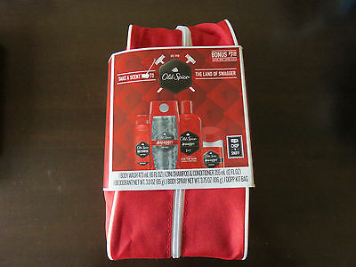 NEW Old Spice Swagger Dopp Gift Set with Bag