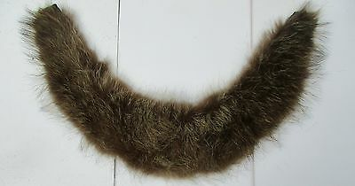 Vintage Real Fur Collar from Coat