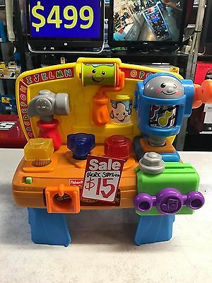 FISHER-PRICE Tool Bench / Activity Station