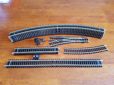 Hornby Track Lot Nickel Silver Ex-New Set Excellent Unboxed Oo Gauge Lot 1(Un)