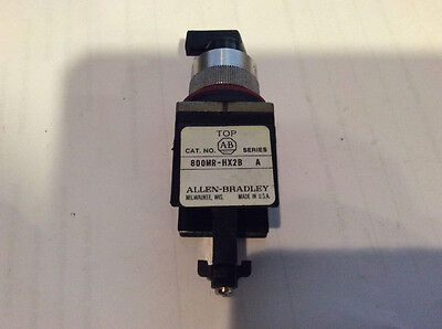 Allen Bradley 800MR-HX2B Selector Switch FREE SHIPPING