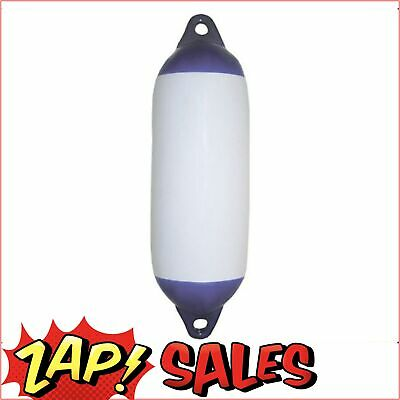$48 After Discount:Boat Fender,Inflatable Blue Tip, 620x210, Suit 10mm Rope