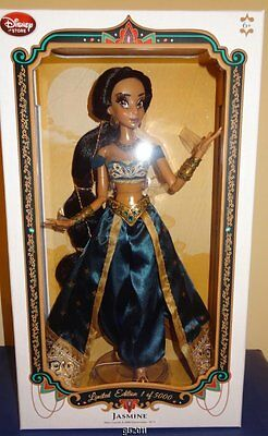 Disney Store Limited Edition Teal Jasmine Doll