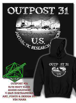 OUTPOST 31 HOODIE (John Carpenter's The Thing)