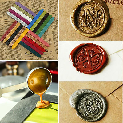 Vintage Embossing Sealing Wax Stick Wax For Envelope/Invitations/Stamp/Letter