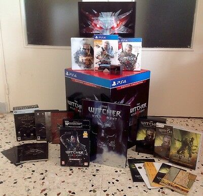 Lot Collector The Witcher Pc Et Ps4