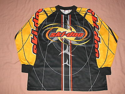 Ski-Doo Bombardier All Over Print Sno Gear Men's size XXL Jersey