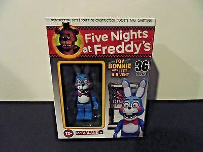 McFarlane Five Nights at Freddy's TOY BONNIE with LEFT AIR VENT CONSTRUCTION