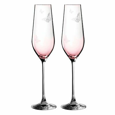 NEW Royal Albert Miranda Kerr Champagne Flute Set 2pce