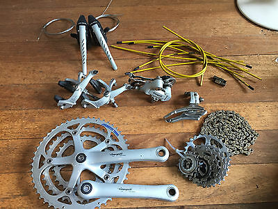 Campagnolo Veloce 3 x 8 (tripple) groupset. EXCELLENT condition. RARE!!