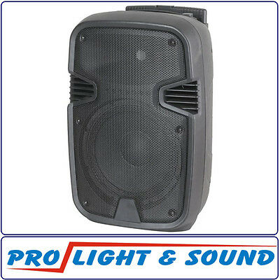 250mm (10 Inch) Portable PA Speaker with MP3 Player and Bluetooth