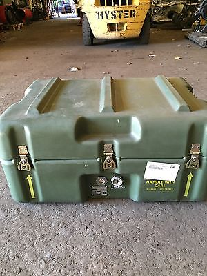 AUS & US EX Army  Pelican HARDIGG Military case Not Space Case Trimcast