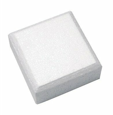 "Cake Dummy - Square - 12"" Long x 3"" High - Chamfered Edge"