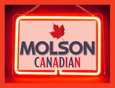 Molson Canadian Beer Neon Sign New Hot