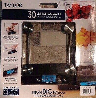 Taylor High Capacity, Ultra Precise, Food Weight 30 LB Scale New