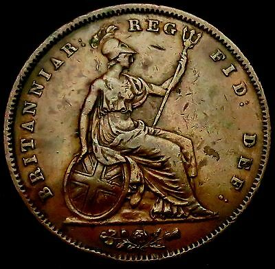 S455: 1841 Queen Victoria Large Copper Penny